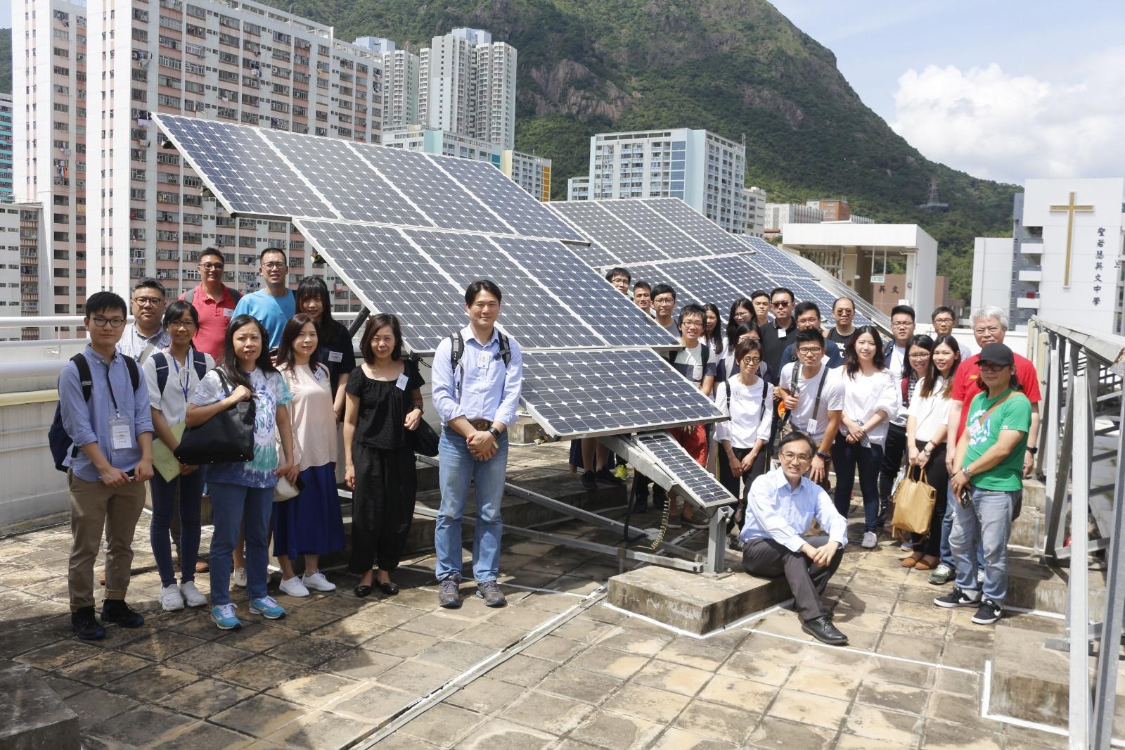 Hong Kong Solar Partnership Asian Energy Studies Centre